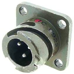 CA3102E20-7PBA176F16 - Circular Connector, CA-B Series, Box Mount Receptacle, 8 Contacts, Solder Pin, Reverse Bayonet (CA3102E20-7PBA176F16)