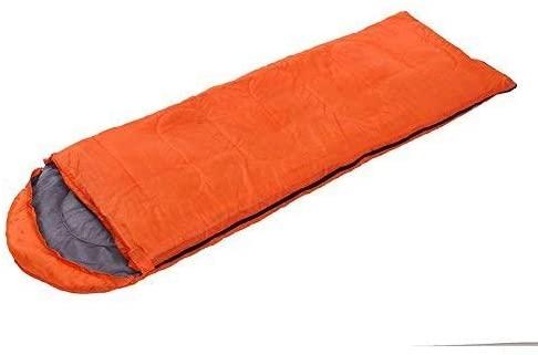 QARYYQ Hooded Sleeping Bag, Outdoor Camping Single Sleeping Bag, Winter Warm Hotel Anti-Dirty Sleeping Bag Sleeping Bag (Color : D)