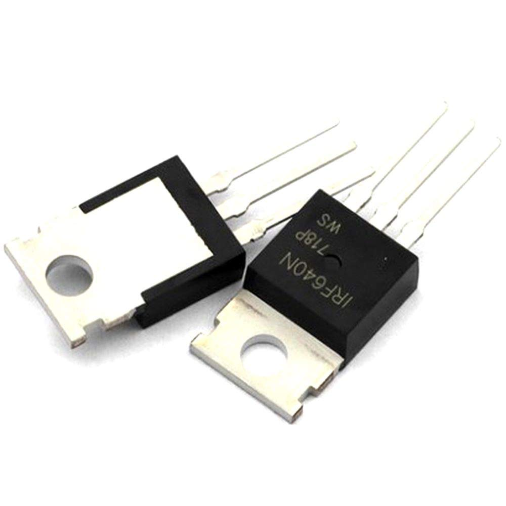 iProTool 50 PCS IRF640 IRF640N F640 18A 200V Power MOSFET