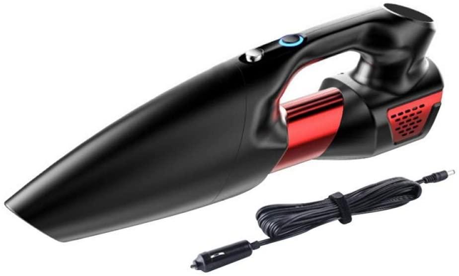 GYTK Vacuum Cleaner Professional Car Vacuum Cleaner Wet and Dry Handheld DC12V 120W High Power Car Vacuum Cleaner Car Accessories,Black