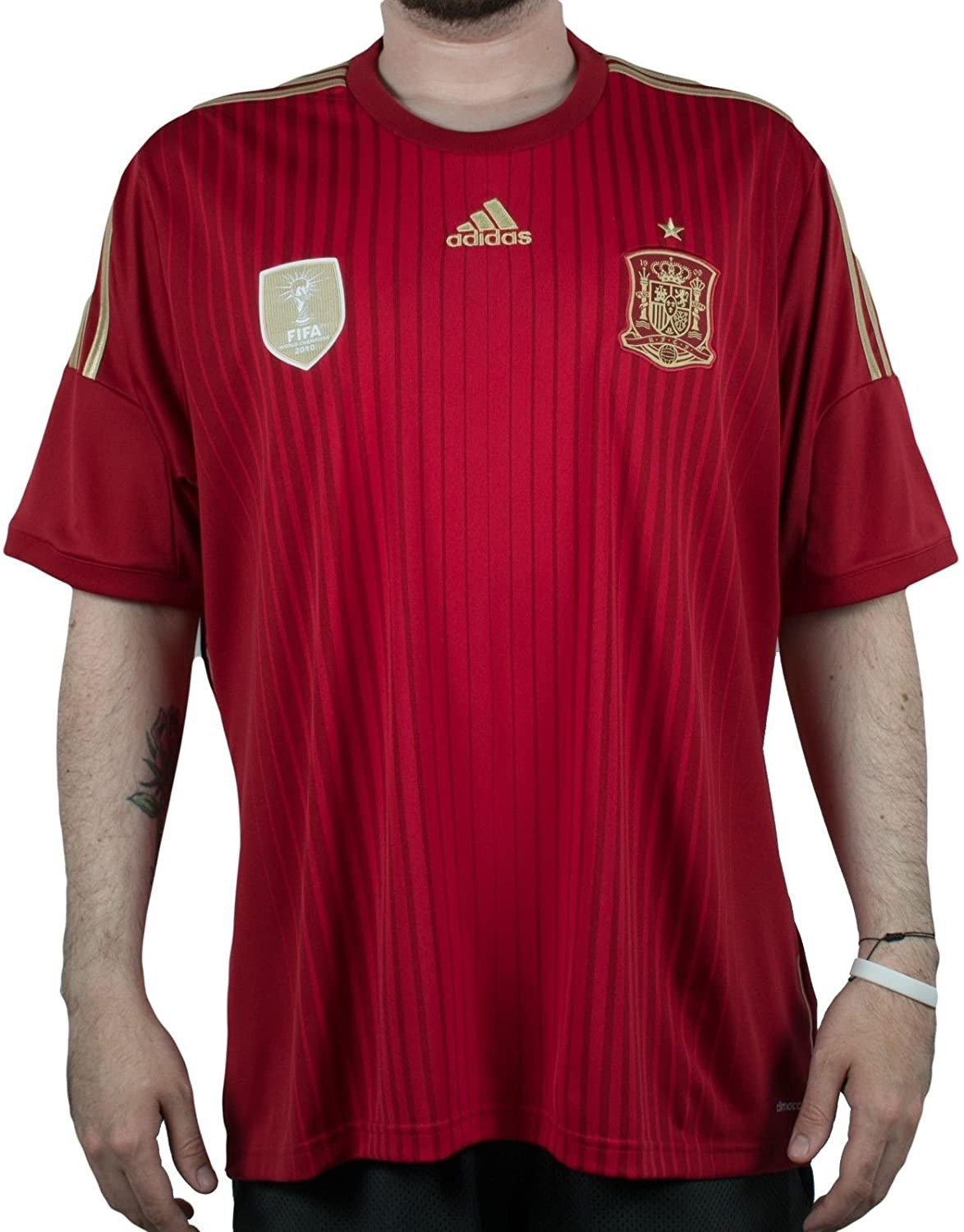 adidas Spain Home Jersey World Cup 2014