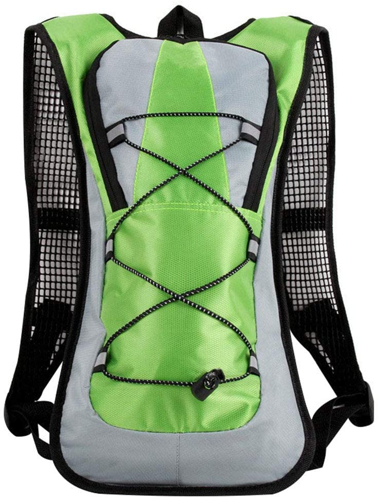Maserfaliw Outdoor Backpack, Sport Travel Water Bag Backpack Hiking Motocross Cycling Riding Rucksack Green