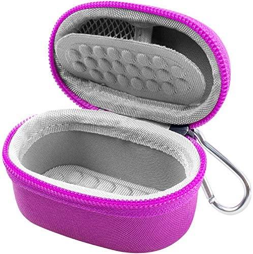 Case Compatible for Zacurate Pro Series 500DL/ BL/CMS 50-DL/Facelake/Innovo Deluxe/Facelake/Santamedical/Fingertip P.O Blood Oxygen Saturation Monitor(CASE Only)- Purple