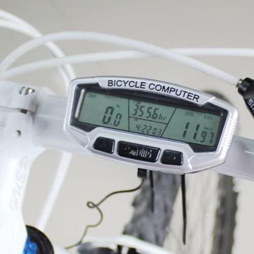 IRISMARU Bike Bicycle Computer LCD Odometer Speedometer Stopwatch SD558A