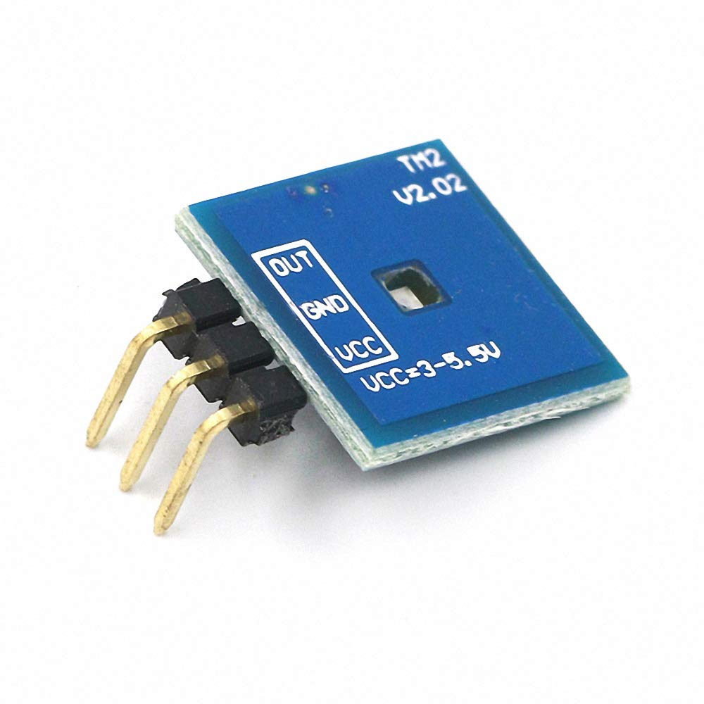 1pcs TTP223 Capacitive Touch Sensor Switch Module DC2.5V-5.5V self-Locking or Jog Mode with LED lamp