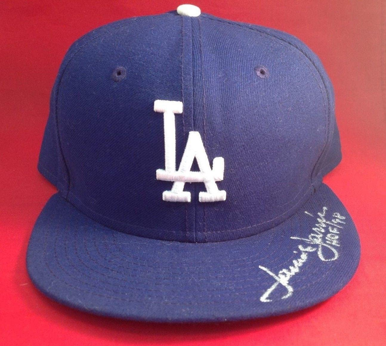 Jaime Jarrin signed Los Angeles Dodgers Baseball Hat Cap COA# X32278 - PSA/DNA Certified - Autographed Hats