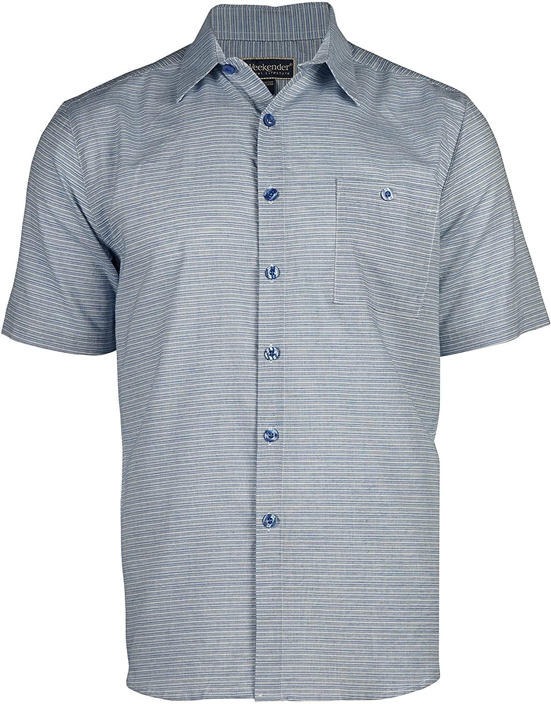 Weekender Men's Latitude Hawaiian Island Tropical Shirt