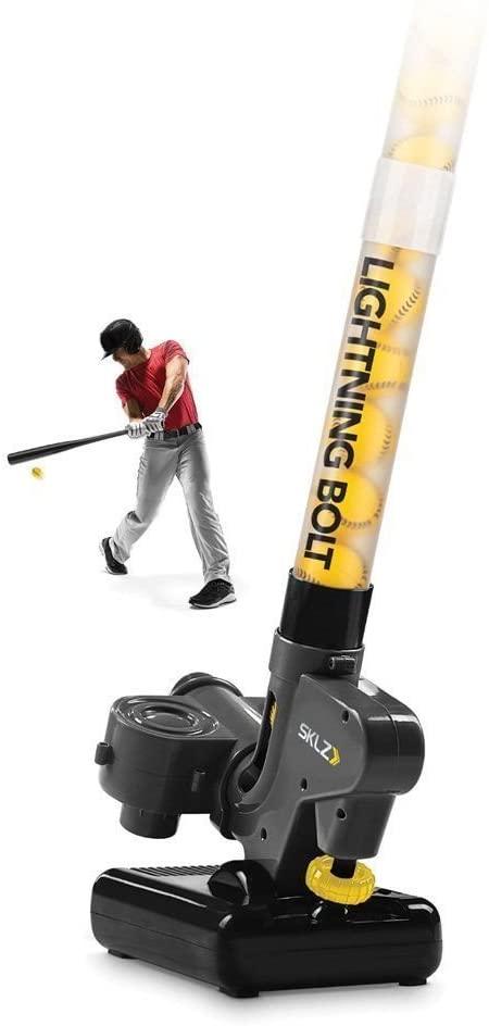 SKLZ Sports Real Pro Training Practice Batting Baseball Pitching Machine