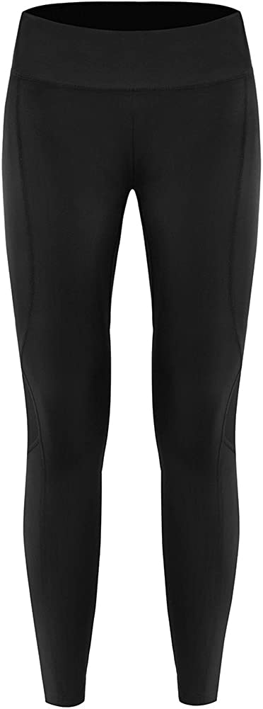 HIFEOS Yoga Pants, High Waisted Compression Leggings for Women, Tummy Control Cycling Pants with a Hidden Pocket (Black)