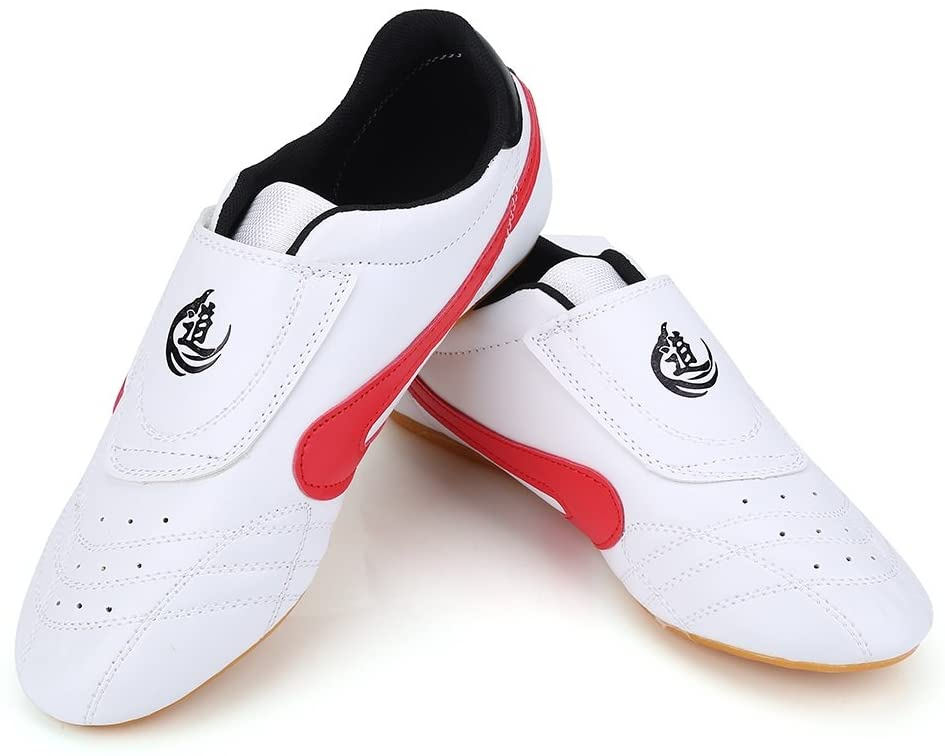 VGEBY Taekwondo Boxing Shoes, Tai Chi Kongfu Shoes Lightweight Breathable Karate Traning Shoes for Men Women (Size : 34)