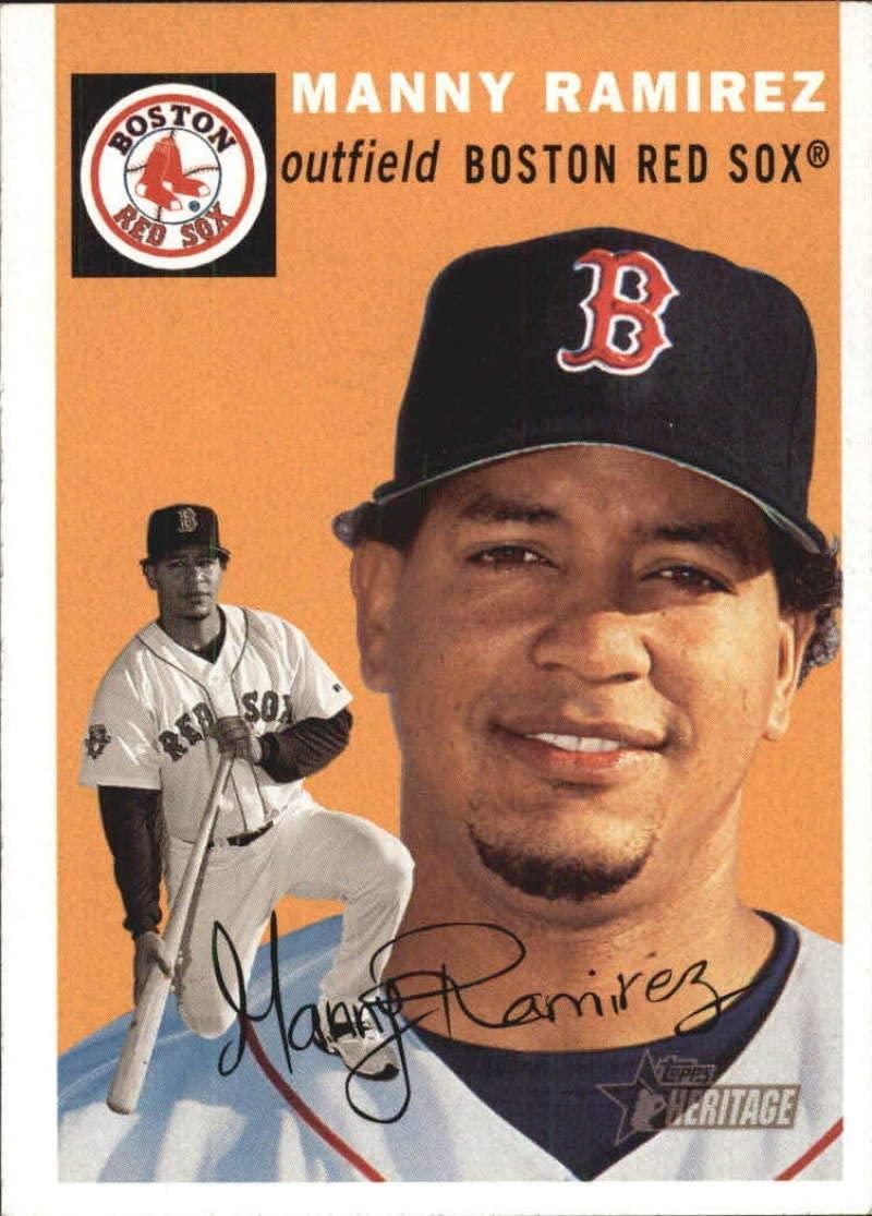 2003 Topps Heritage #303 Manny Ramirez Red Sox MLB Baseball Card NM-MT