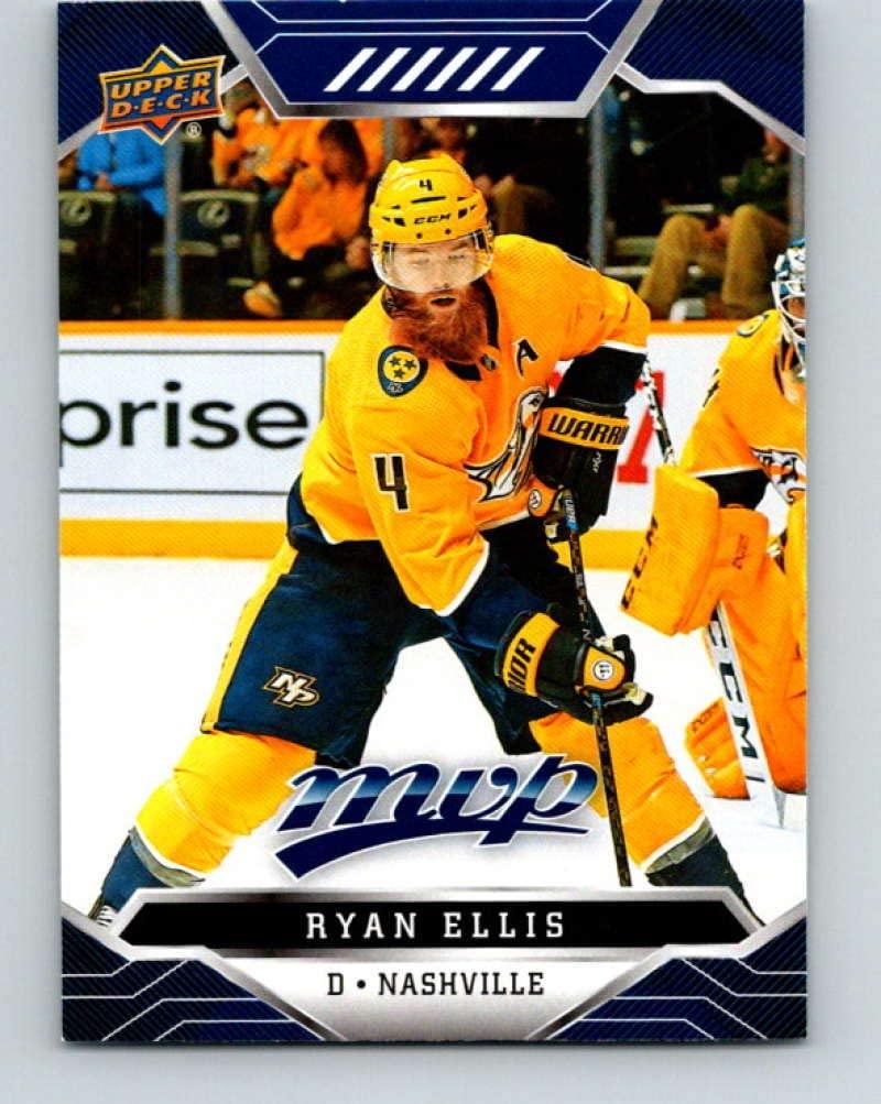 2019-20 Upper Deck MVP Blue #125 Ryan Ellis mint Hockey NHL Predators