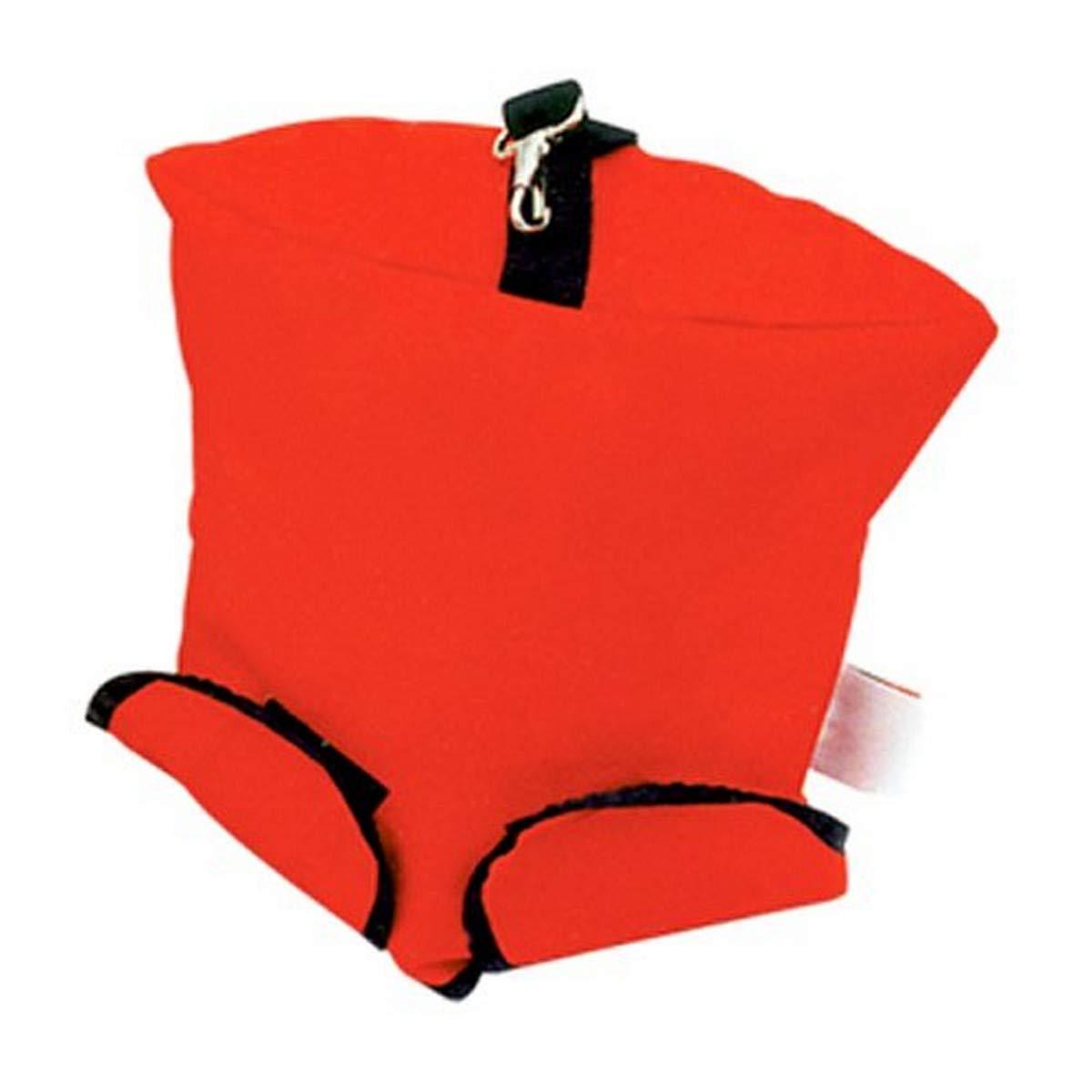 R&B Fabrications 426RD Mesh Vented Air Mask Bag, Red