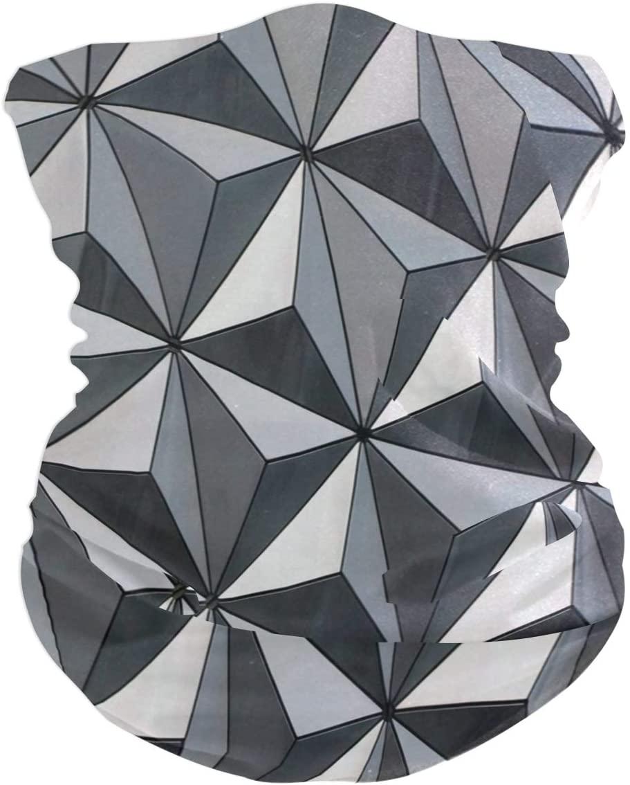 Love beautiful Earth Triangles Face Mask UV Sun Mask Dust Wind Neck Gaiter Magic Bandana