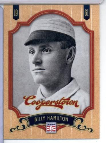 2012 Panini Cooperstown Hall of Fame Baseball Card #70 Billy Hamilton