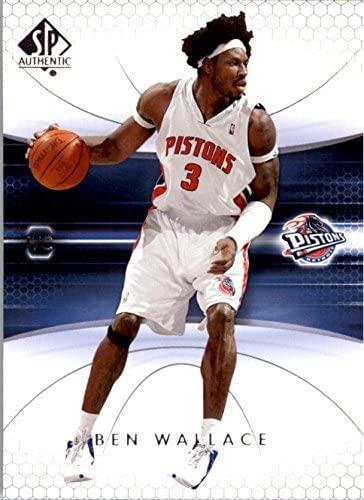 2004-05 SP Authentic #22 Ben Wallace NBA Basketball Trading Card