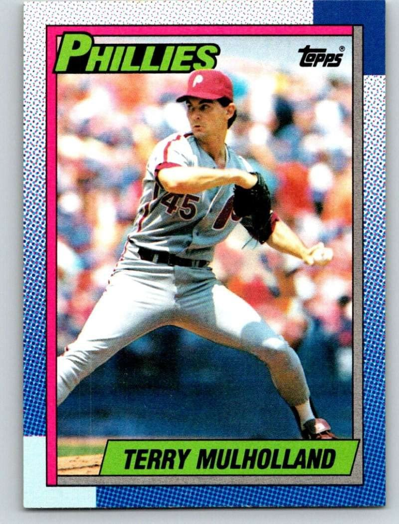 1990 Topps #657 Terry Mulholland Mint Baseball MLB Phillies