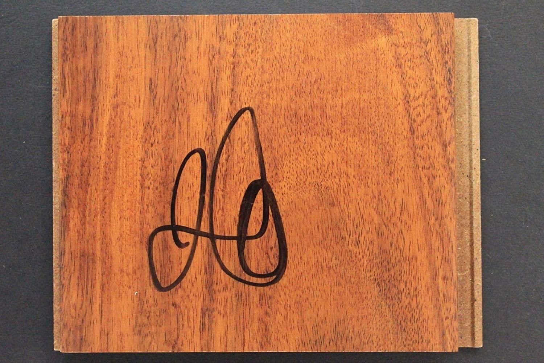 Jamal Crawford Autographed Basketball - Michigan Floor Tile - Autographed NBA Floor Boards