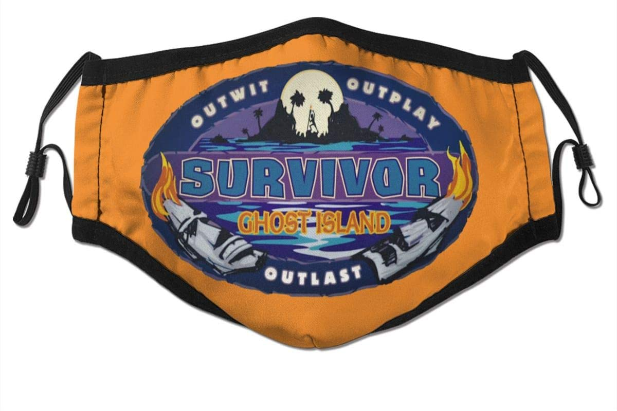 N/D Su_Rvivor CBS Tv Te_Levision Show Dust Reusable Washable Filter and Reusable Mouth Windproof Warm Cotton Face