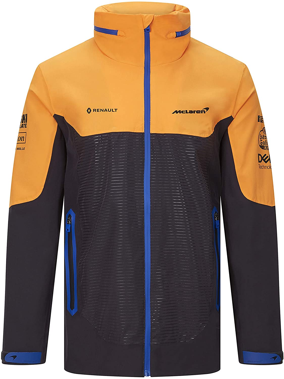 McLaren F1 2020 Team Waterproof Jacket Anthracite