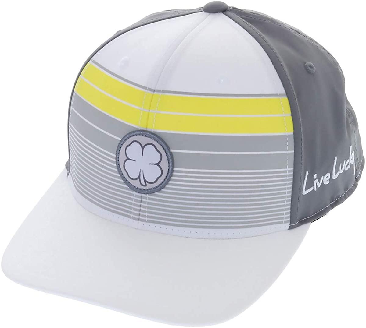 Black Clover New Live Lucky Island Sun White/Grey/Yellow Adjustable Hat/Cap
