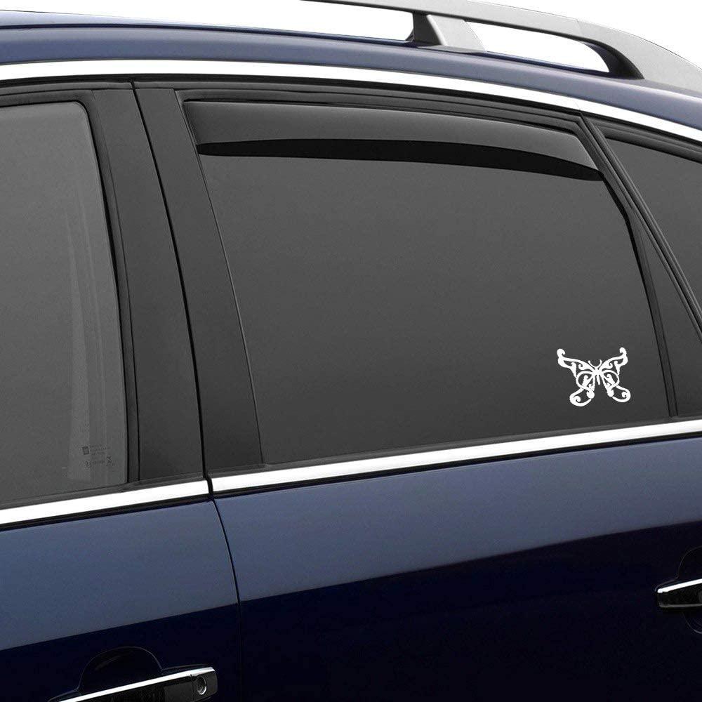 N/ A Butterfly Beauty Animal Pattern Vinyl Sticker Graphic Bumper Tumbler Decal for Vehicles Car Truck Windows Laptop MacBook Phone Wall Door