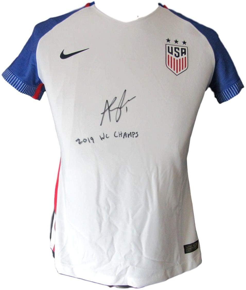Alyssa Naeher USA Women's Soccer Team Signed Nike White Soccer Jersey JSA 145844