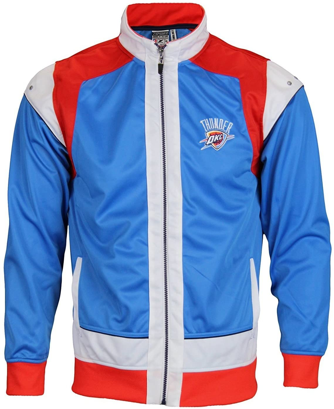 Oklahoma City Thunder NBA Big Boys Youth Walt Full Zip Jacket, Blue