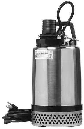 Sump Pump, 1 HP, 14 in. H