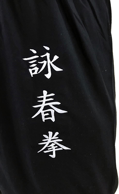 Tai Chi Pants Wide Leg Men Women Kids Yoga Pants Qigong Open on The Ankles