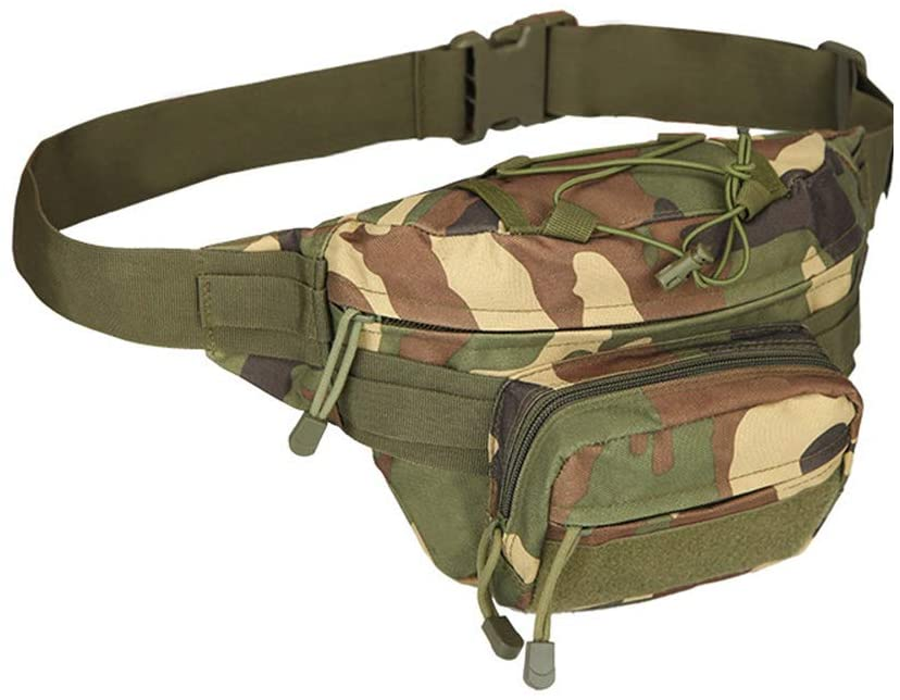 Outdoor Sports Hiking Versipack Running Waistpack Tactical Camouflage Waist Bag Fanny Pack