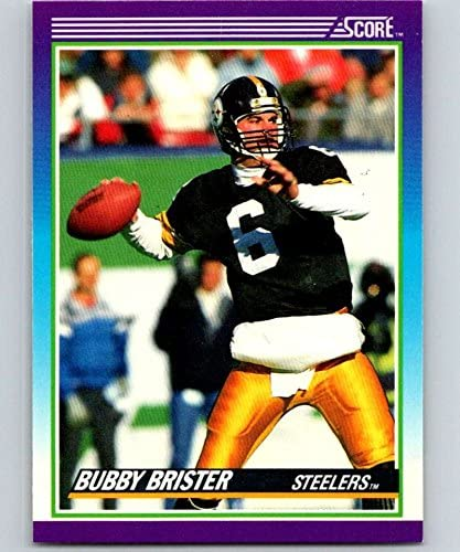 1990 Score #166 Bubby Brister Steelers NFL Football