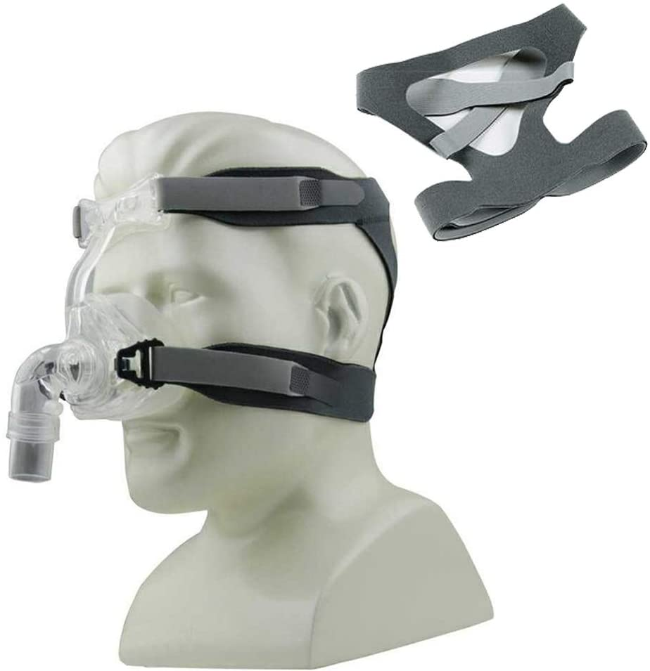 Headgear Replaces Universal Ultralight Comfort Gel Full Mask Replacement Part Head Band Fit for Without Clips