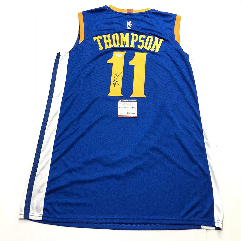 Autographed Klay Thompson Jersey - PSA/DNA Certified - Autographed NBA Jerseys