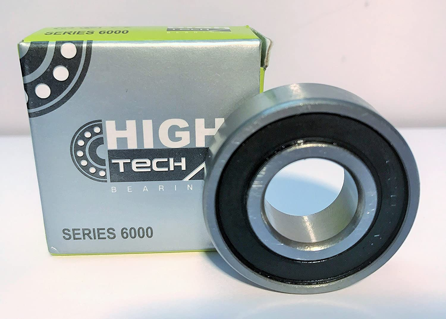 6202-2RS/C3 - Deep Groove Ball Bearings, High Tech Bearings, 15x35x11 mm, C3 Clearance, Metric, Steel Cage,Rubber Double Sealed, Pre Lubricated
