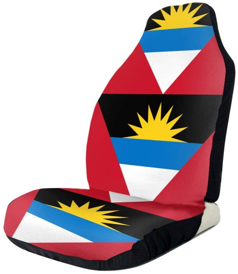 WUZZZZ Flag of Antigua and Barbuda Car Seat Covers Protectors Universal Car Seat Accessories