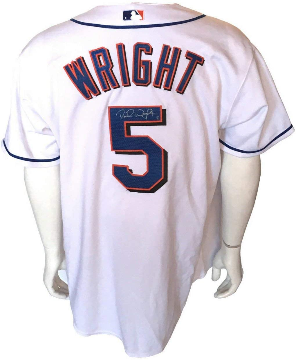 David Wright Autographed Signed Game Used 2005 Ny Mets Home Jersey Autograph JSA Loa