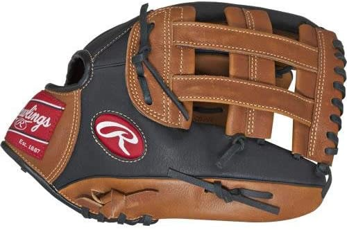 Rawlings Sporting Goods Prodigy Series Baseball Youth Glove, Brown 12