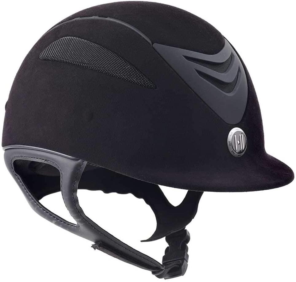 One K Boys' Defender Jr Suede Helmet - 470433