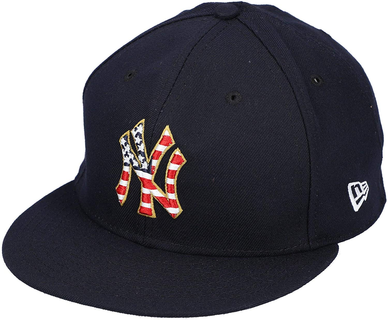 A.J. Cole New York Yankees Player-Issued #67 Navy Stars and Stripes Cap vs. Atlanta Braves on July 4, 2018 - Size 7 1/2 - Fanatics Authentic Certified