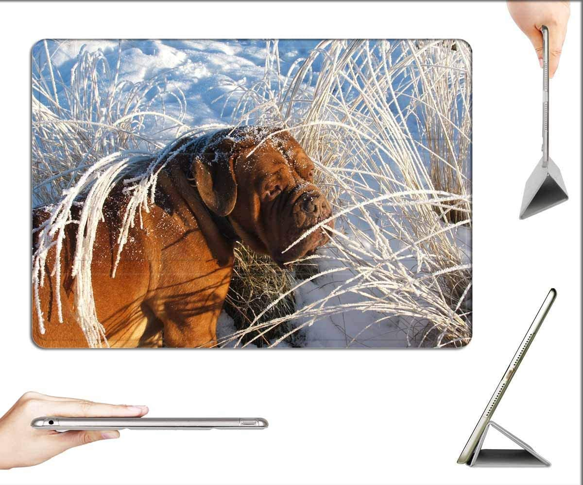 Case for iPad Air 3 (3rd Gen, 10.5-inch 2019) - Dog Mastiff Pet Pets Large Animal Dogs Snow