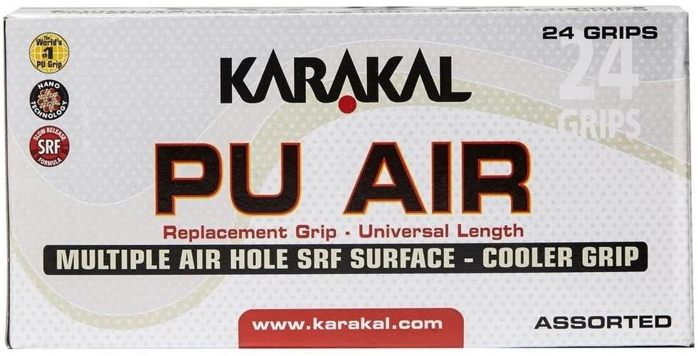 Karakal Racket Grips (Box of 24) - Assorted, N/A