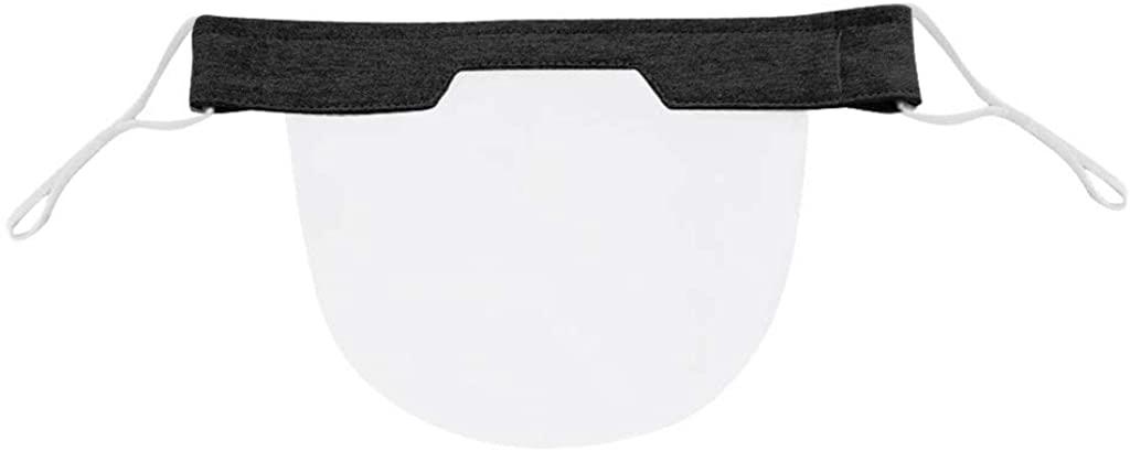 perfectCOCO Washable Face Shield Reusable Face Covering Visual ḟɑcѐ ṁɑѕḱ Transparent PVC Mini Shields