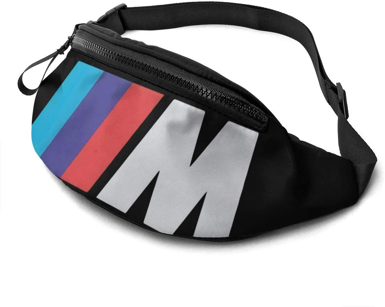 Gerneric B-M-W Car M Sports Series Running Sports Fitness Travel Waist Bag for Unisex