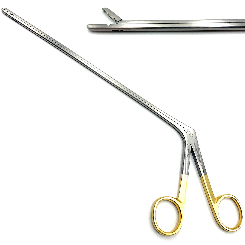 Medikrebs Caspar Intervertebral Disc Rongeur 3 mm x 22 cm Straight Cushing O.R Grade