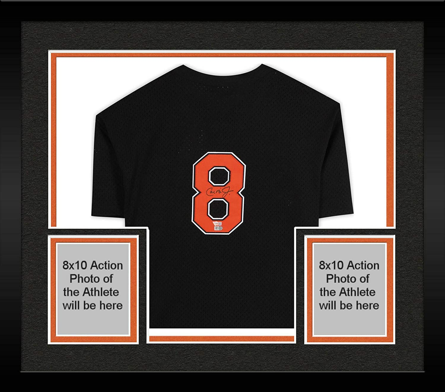 Framed Cal Ripken Jr. Baltimore Orioles Autographed Black Mitchell & Ness Replica Batting Practice Jersey - Fanatics Authentic Certified