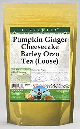 Pumpkin Ginger Cheesecake Barley Orzo Tea (Loose) (4 oz, ZIN: 564120) - 2 Pack