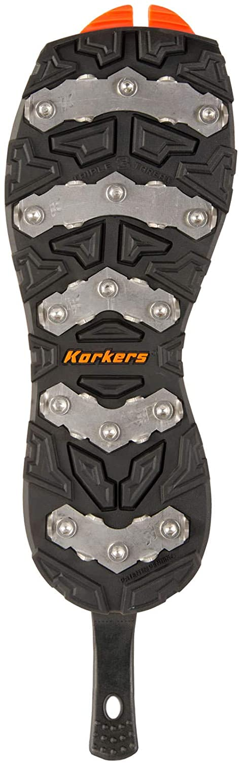 Korkers Triple Threat Ice Claw Bar Sole Boots