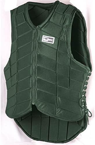 Intec Cushioned Riding Vest Ladies 32 XS Hunter Green