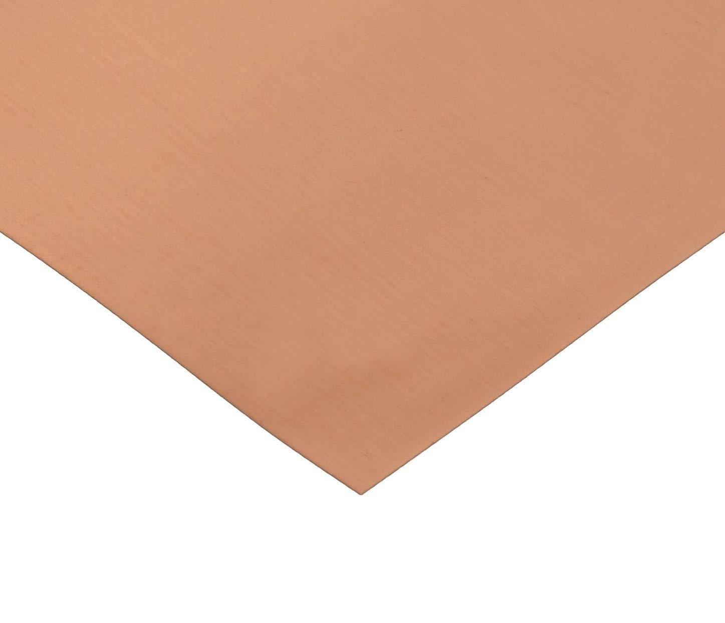 RMP 110 Copper Sheet, 8 Inch x 10 Inch x 0.021 Inch Thick